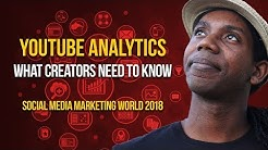 Master YouTube Analytics to Grow Your Channel | SOCIAL MEDIA MARKETING WORLD 2018