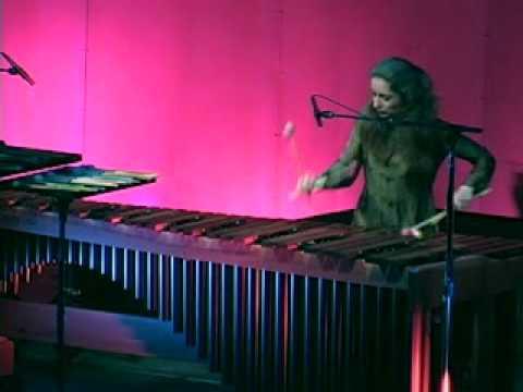Evelyn Glennie performs Rhythmic Caprice by Leigh Howard Stevens