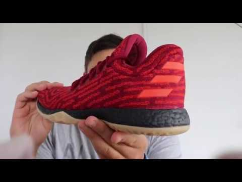 37f5ba29e60 Adidas Harden Vol. 1 LS PK  Sneaker Review - YouTube