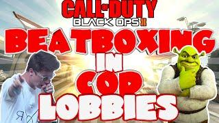 Video 'BEATBOX BATTLE' - BEATBOXING IN COD LOBBIES EP.30 (BLACK OPS 2) download MP3, 3GP, MP4, WEBM, AVI, FLV Maret 2018