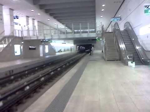 Métro Marseille station La Blancarde  RTM