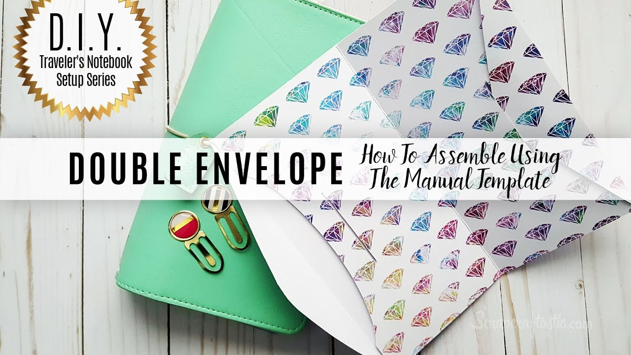 DIY Traveler\'s Notebook Setup Series: How To Assemble The Manual ...