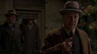Best Scene of Boardwalk Empire as Capone is shown at the Florist