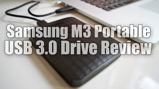 Samsung M3 Portable USB 3.0 External Hard Drive Review