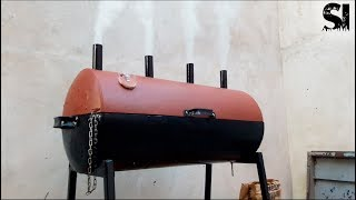 High performance grill (No welding)