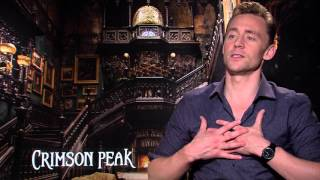 Tom Hiddleston shares on bare butts, naked bodies and Crimson Peak