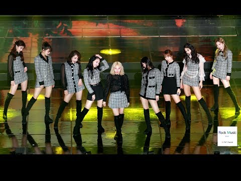 트와이스 (TWICE) (YES or YES + dance the night away ) 4K 60P 직캠 190123