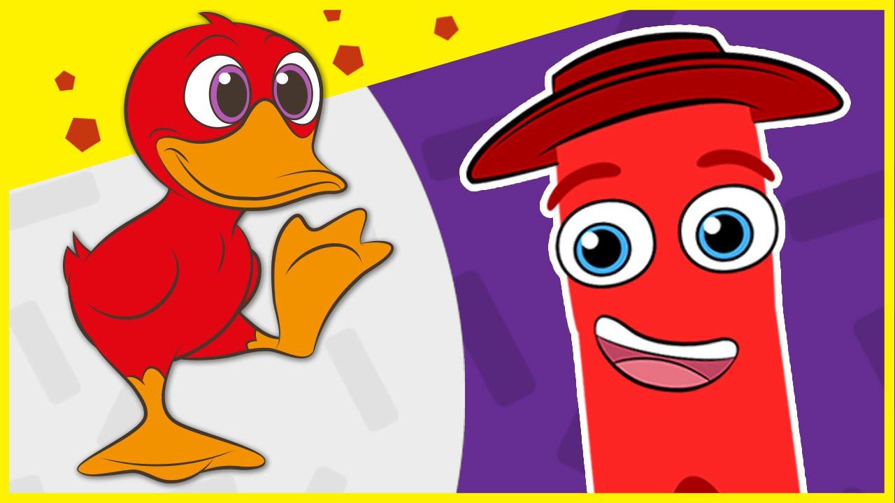 Imagenes De Color Rojo Para Colorear. Colorea De Color Rojo Los De Y ...