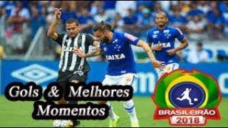 Cruzeiro x Atlético-MG - Gols & Melhores Momentos Brasileirão Serie A 2018 25ª Rodada