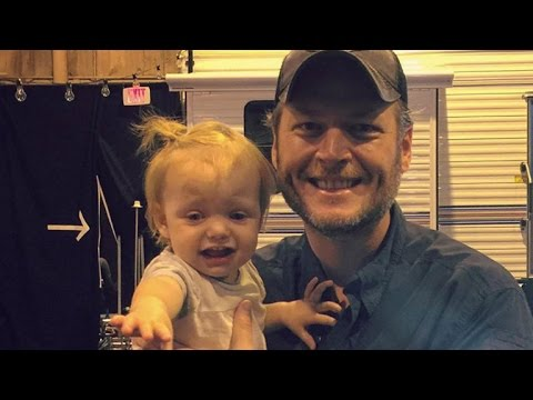 Christina Aguilera's Daughter Is Seemingly Not a Fan of Blake Shelton!