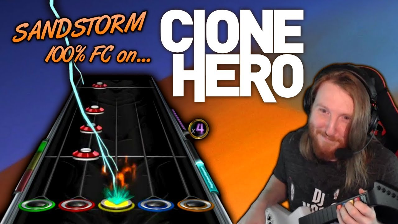DARUDE ~ Sandstorm 100% FC but its played on a free fan made Guitar Hero clone