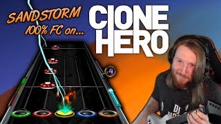 DARUDE ~ Sandstorm 100% FC but it's played on a free fan made Guitar Hero clone