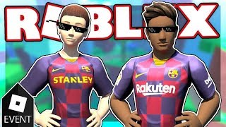 [EVENT] HOW TO GET THE NEW FC BARCELONA RTHRO BUNDLES IN ROBLOX!