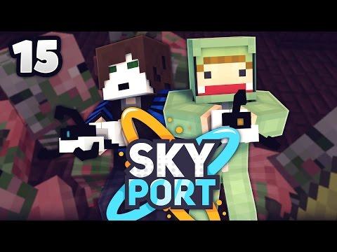 DIE GROßE SCHLACHT! - Minecraft SkyPort 2 #15 | ungespielt