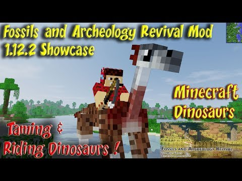 Fossils and Archeology Mod 1 12 2 Rideable Dinosaurs