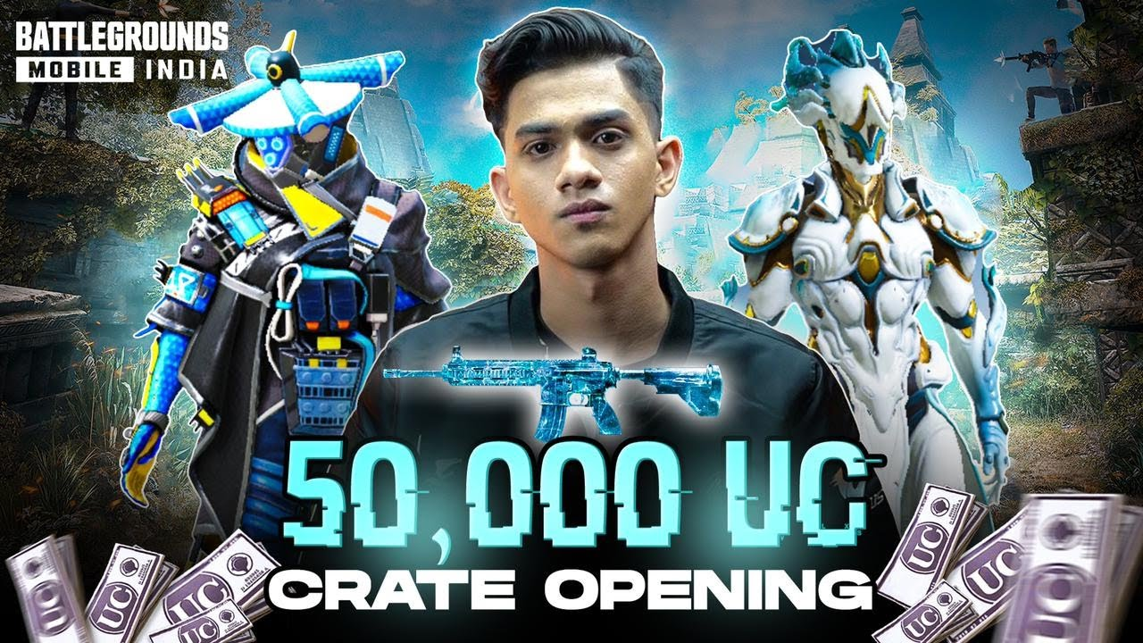 One of the luckiest crate opening ever | 50,000 UC | WHAT ELSE I WANT?