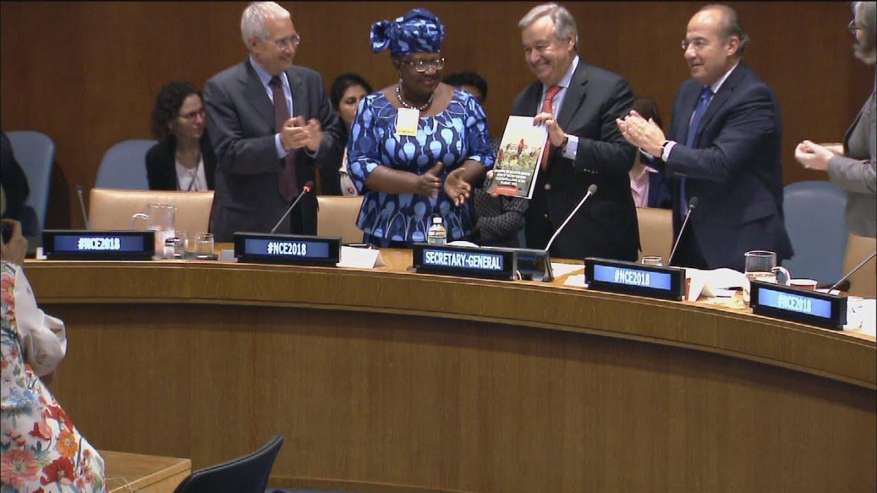 2018 Climate Economy Report – UN Chief
