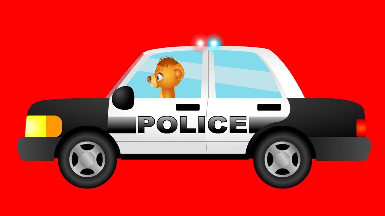 Pościg samochodem policyjnym dla dzieci