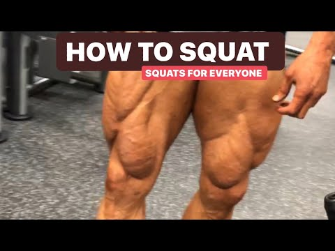 Mike O'Hearn Taking the crew thru a all types of squats