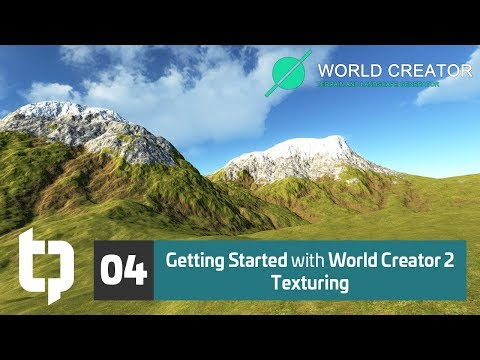 04 | Getting Started with World Creator 2 | Texturing