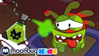 Om Nom Stories - Poisonous Clouds! | Cut The Rope | Funny Cartoons for Kids & Babies | Moonbug