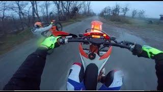 Enduro: 2x KTM 125 - Going Hard -