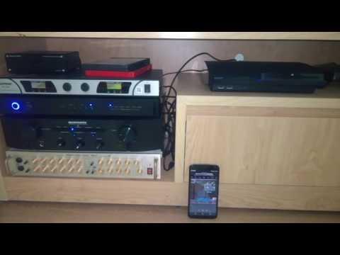 Rotel RDD 1580 DAC bluetooth sound test by Elac B5 Speaker and Marantz PM5005 Amplifier