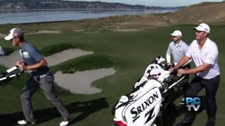 Local Pro Golfers Play Chambers Bay