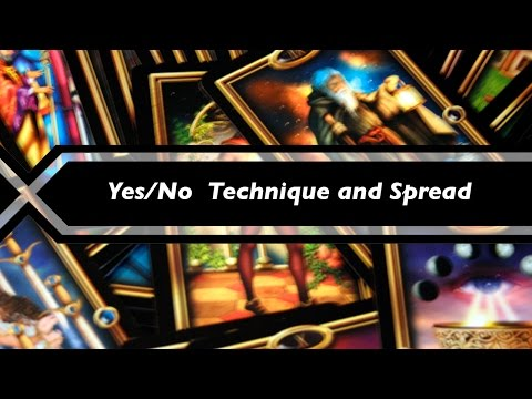 Tarot Lesson - Yes/No Questions Technique And Spread #1