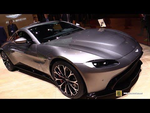 2019 Aston Martin Vantage - Exterior and Interior Walkaround - Debut at 2018 Geneva Motor Show