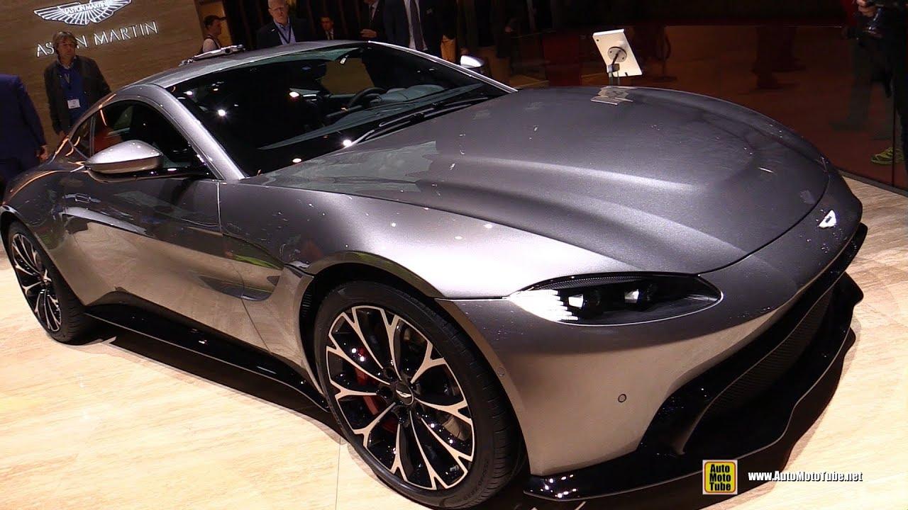 2019 Aston Martin Vantage Exterior And Interior Walkaround Debut