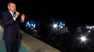 トルコ大統領選、エルドアン氏が再選
