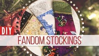 DIY Fandom Stockings || MangoSirene