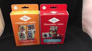 Fairfield Football Hanger Box From Target Comparison. Auto vs Mem Box. Plus Mail Day! Nice 1/1