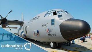 Llego a México avión caza-huracanes