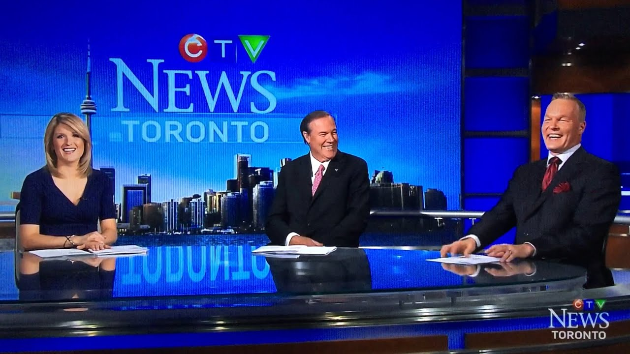 CTV News Toronto Blooper with sport anchor Lance Brown ...