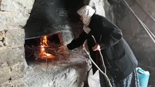 Köy hayatı bu ekşi Mayalı Doğal Köy Ekmeği Böyle Olur