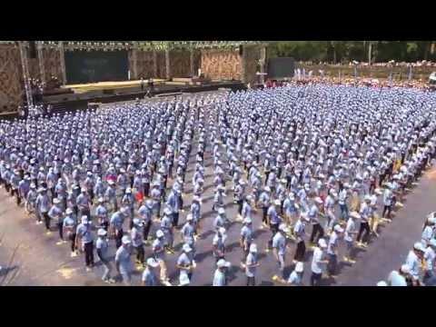 #Madison Dance World Break Record Announced 2015 Cambodian- Angkor Sangkran Siem Reap (Part IV)