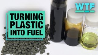 Turning plastic into fuel | What The Future