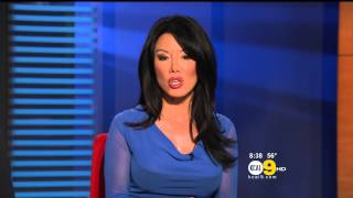 Sharon Tay 2012/11/20 KCAL9 HD