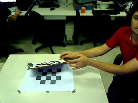 Augmented Reality Solutions - Point tracking using Kalman Filter