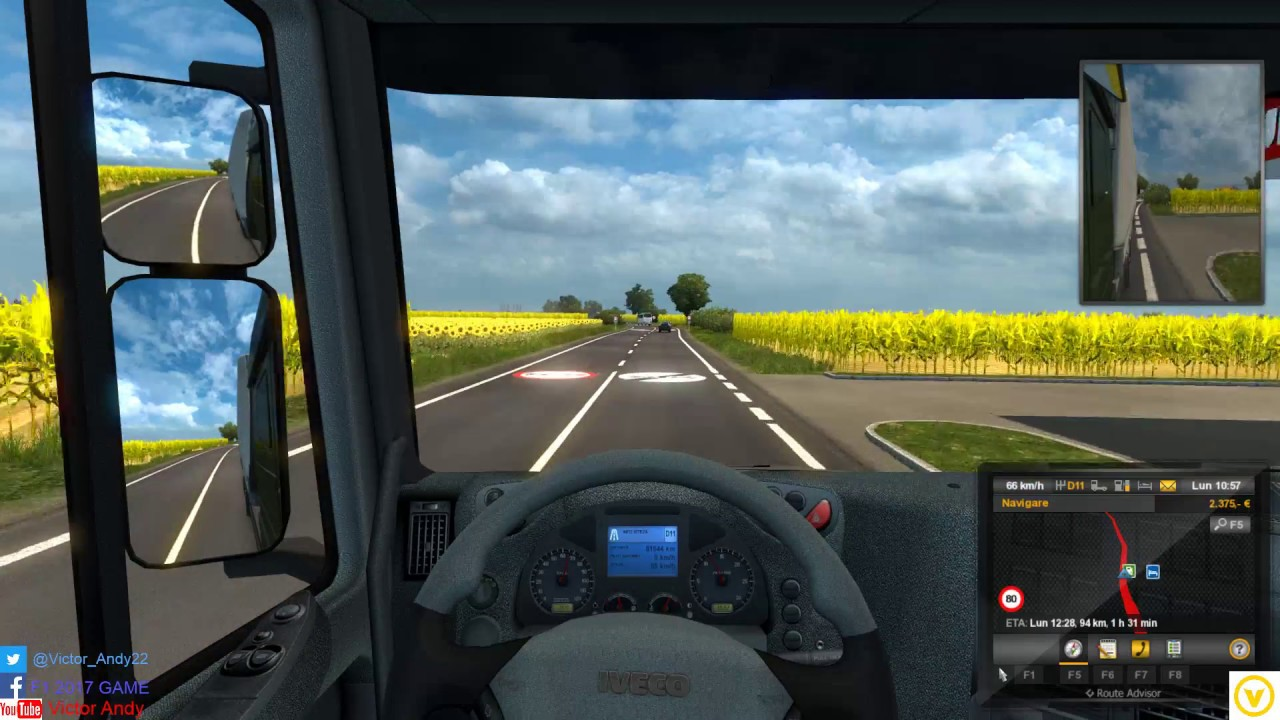 Euro Truck Simulator 2 Awesome Romanian Map Harta Romaniei By