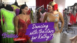 Nikki and Kathy shop for ballroom dancing dresses! - Total Bellas Exclusive