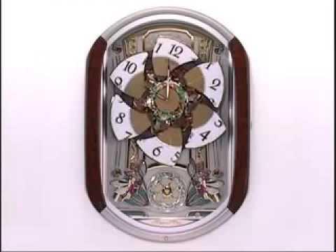 Seiko Dancing Fairies QXM275BRH Melodies in Motion Clock Video