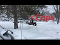 Cops! Already?? trying out the new honda fourtrax 250
