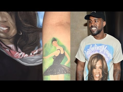 Kanye West Serenades Fan Who Made Him Cry With Tattoo