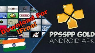 How To Download & USE PPSSPP Gold Emulator Gaming FREE For ANDROID HINDI
