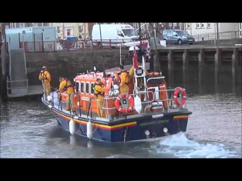 RNLI Arbroath Lifeboats Exercise 26th April 2016