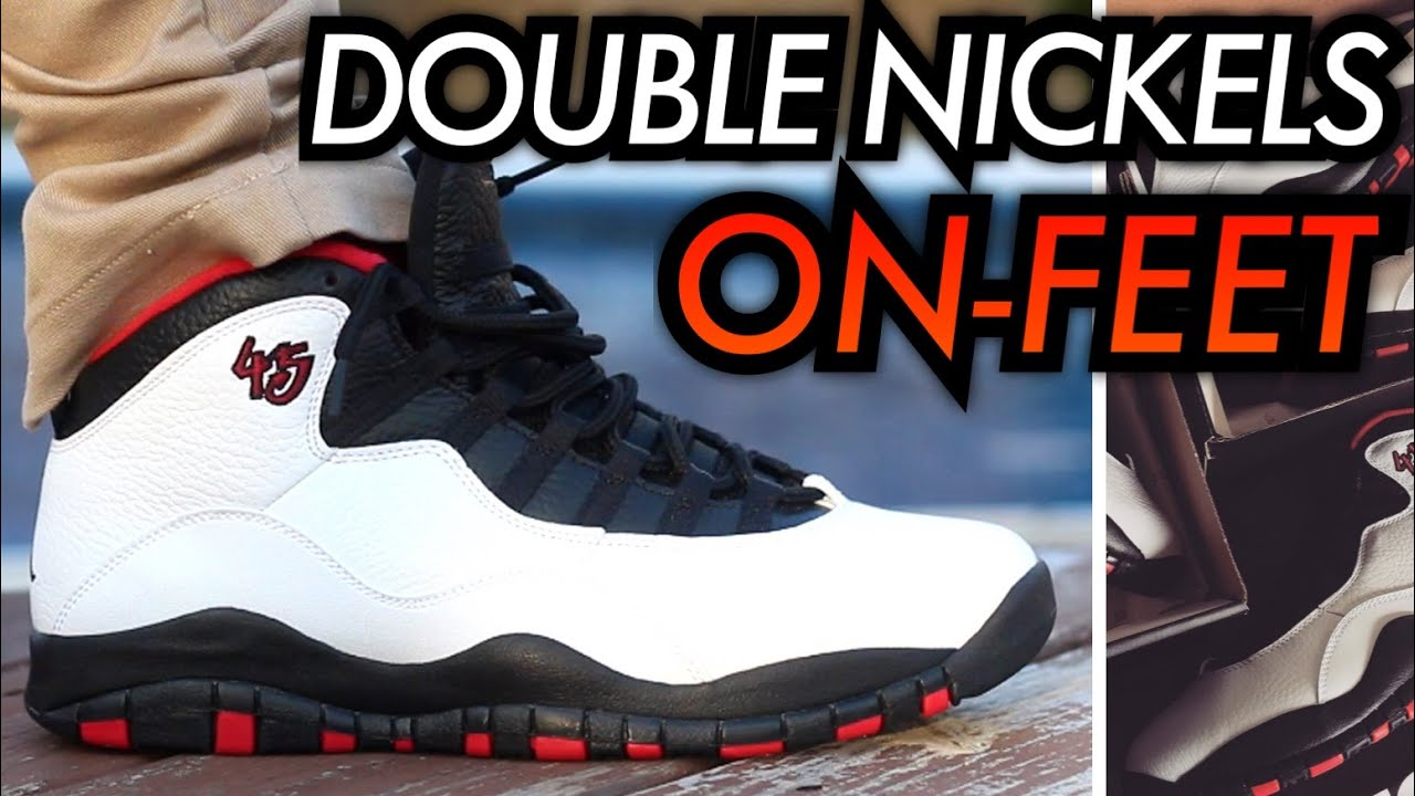 Air Jordan 10 À Double Critique De Nickel
