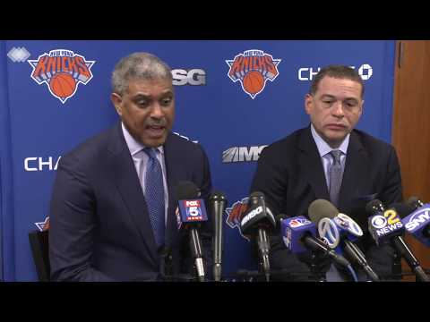 Knicks Exclusive: Steve Mills & Scott Perry Press Conference, April 12